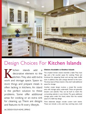 Design Your Home   Articles About Home, Cottage, Apartment Or Condo Living  From The Interior To The Exterior, Helping You Find Local Ideas, Products  And ...